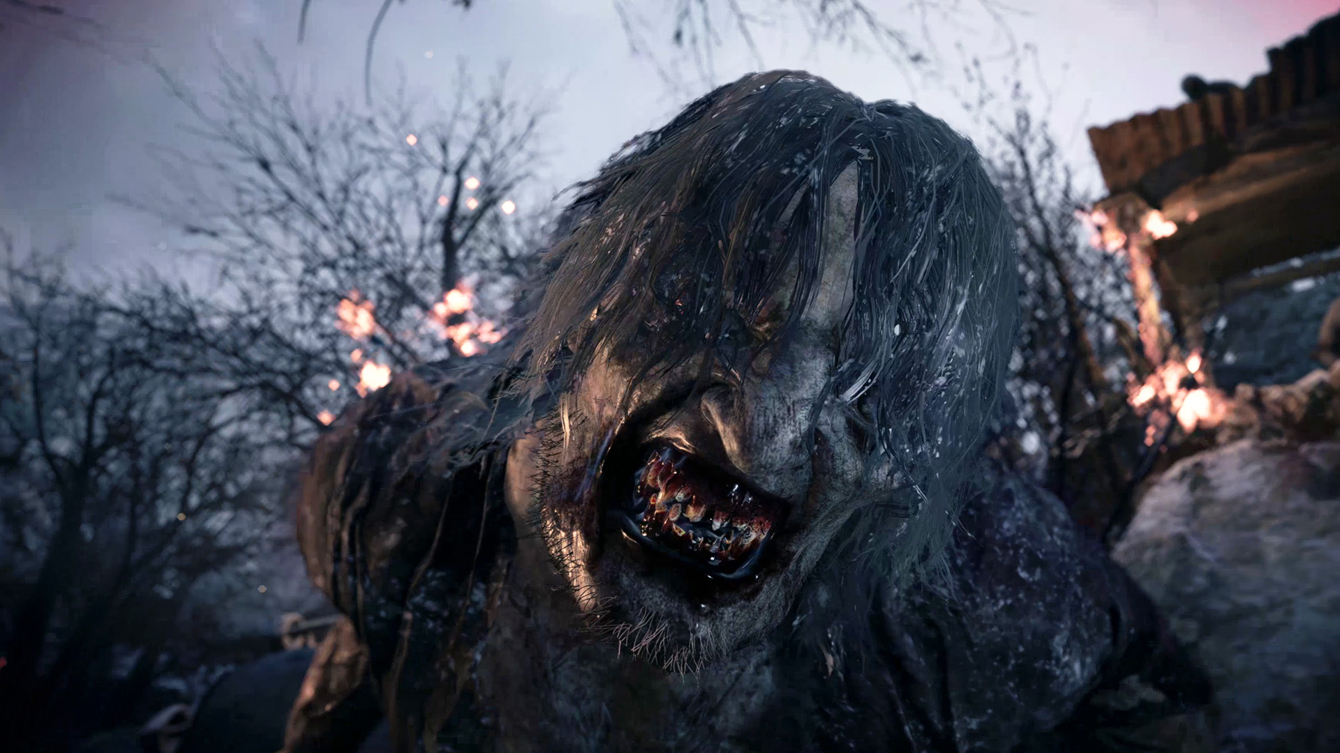 A lycan monster up close