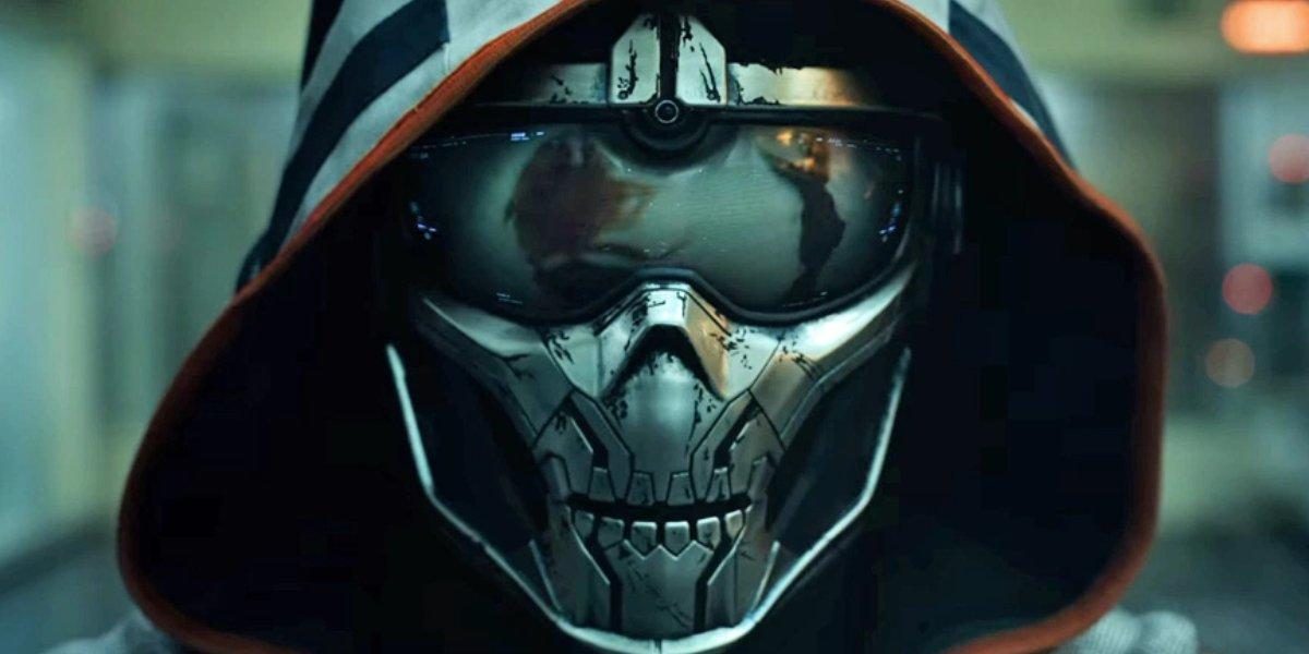 Taskmaster in Black Widow