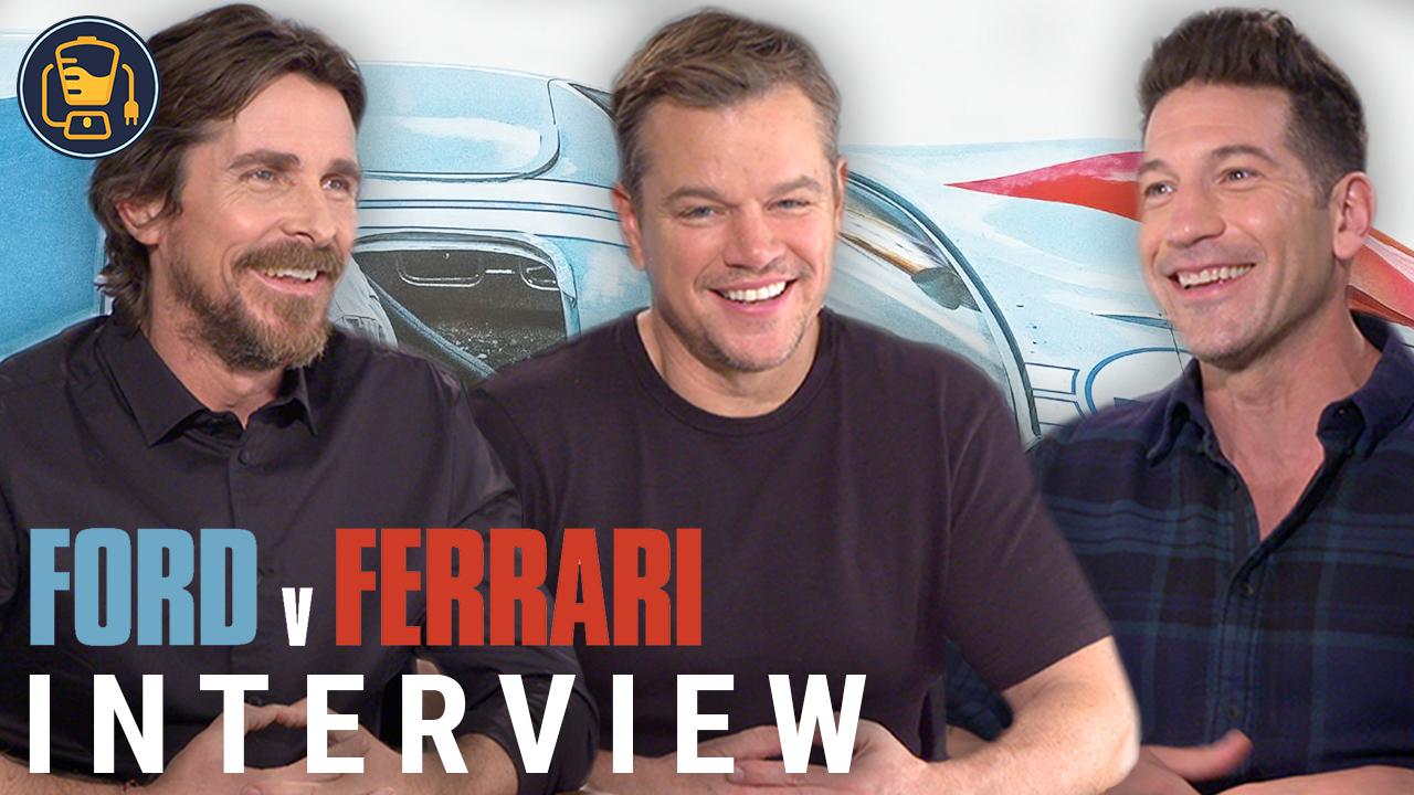 Video | Ford v Ferrari Interviews With Matt Damon, Christian Bale And More