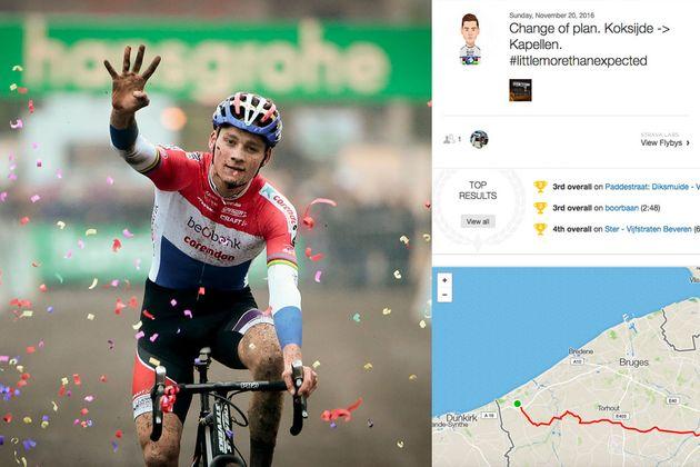 Koksijde Mathieu Rides Van Der After Poel Cyclocross Home 208km Cq1q0rt
