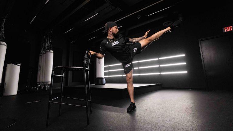 FightCamp 10-minute kickboxer warm-up