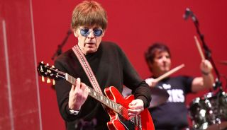 Elliot Easton, founding member of The Cars, performs onstage during the Autism Think Tank benefit at The Alex Theatre on February 23, 2019 in Glendale, California