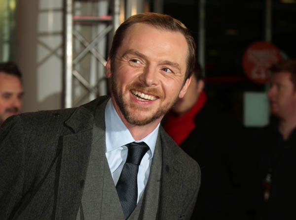 Simon Pegg: 'I want to do more serious work'
