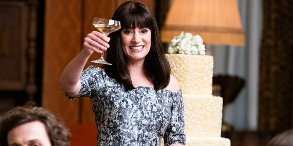 hooray, Criminal Minds will be back for Season 15. Prentiss celebrating at Rossi's wedding.