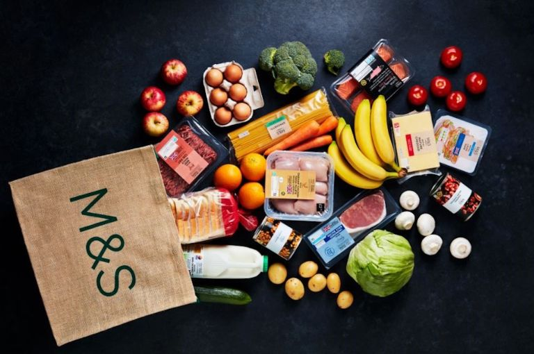 Marks & Spencer food delivery
