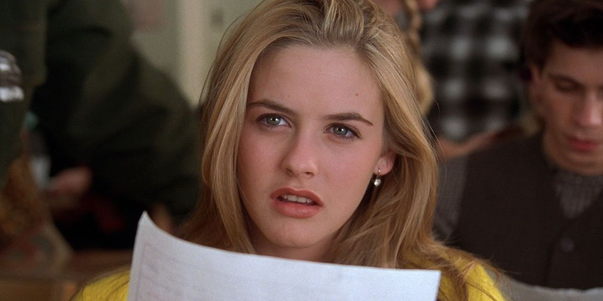 Alicia Silverstone is Cher in Clueless