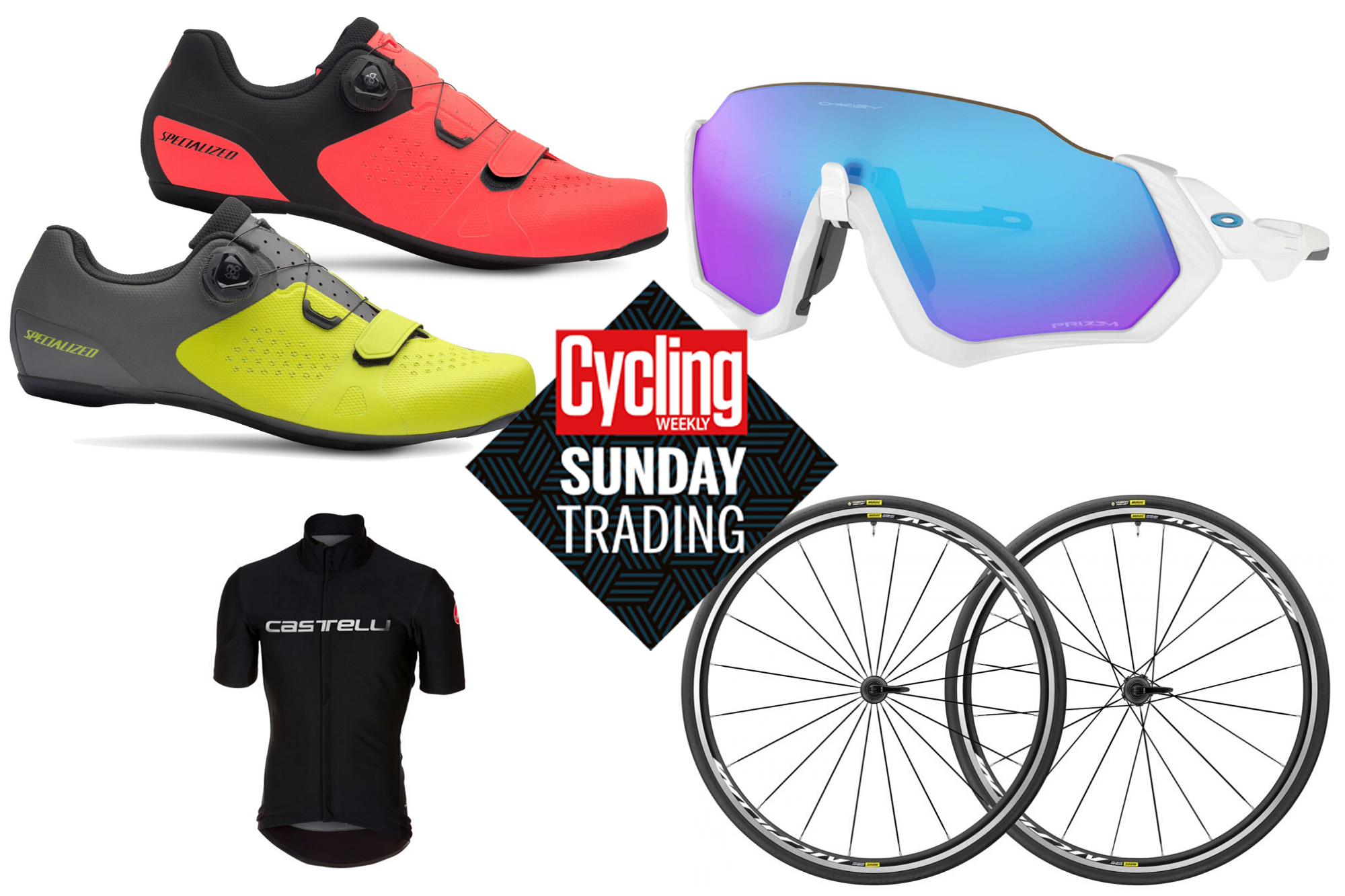 Sunday trading: Big discounts on Mavic wheels, Oakley glasses and much more