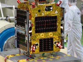 Astroscale's ELSA-d mission will launch in March 2021 to test space junk-removal tech.