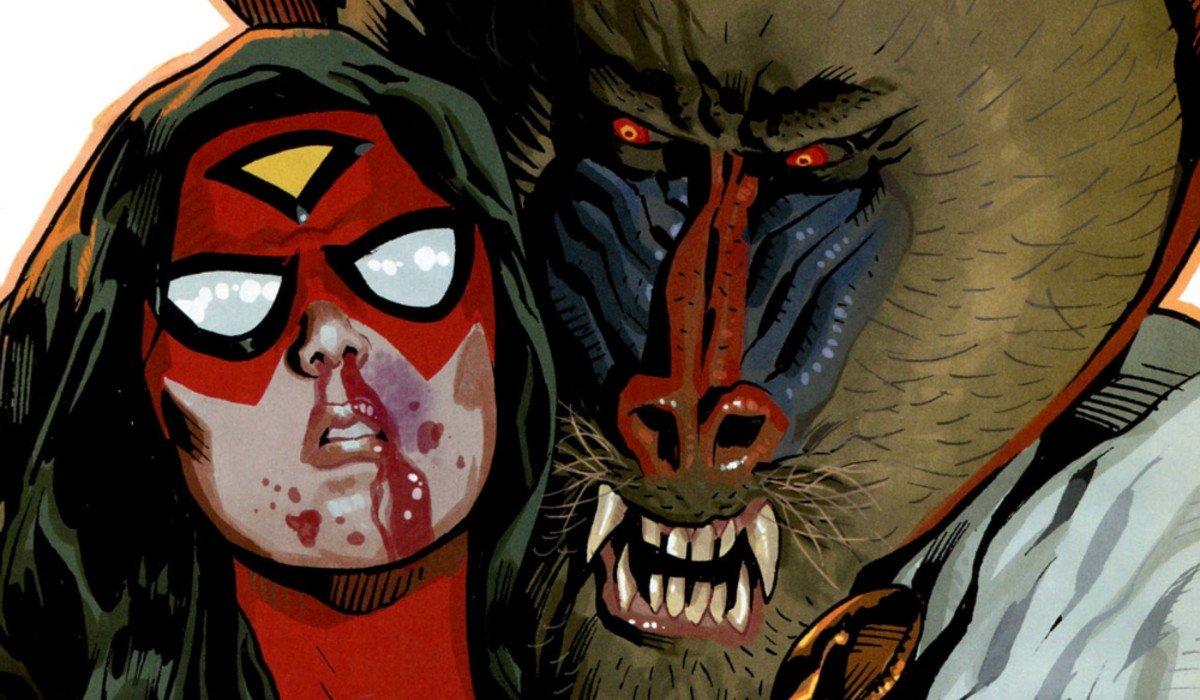Mandrill and Spider-Woman Marvel Comics