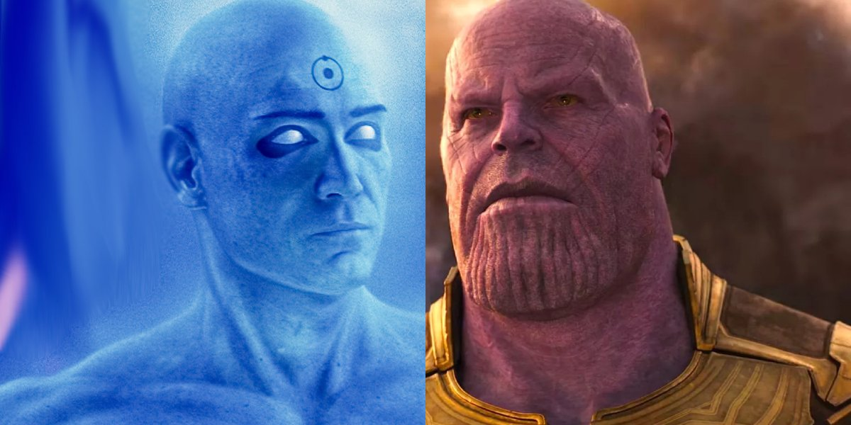 Who will win: Dr. Manhattan or Thanos?