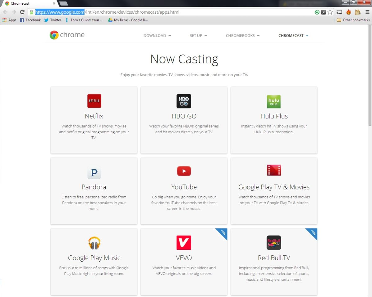 How to Find Chromecast Apps | Tom's Guide