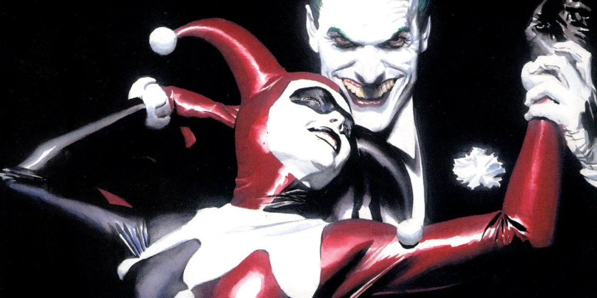 Alex Ross' cover art for Harley Quinn's story in Batman: No Man's Land