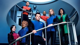 "The cast of ""The Orville."""