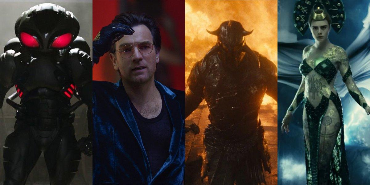 Ranking Every Dceu Movie Villain Including Ewan Mcgregor S Black Mask Cinemablend