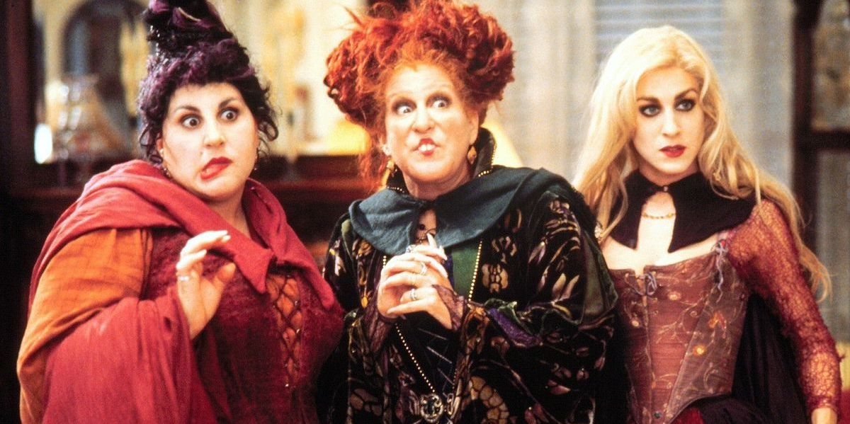 Sanderson sisters in Hocus Pocus