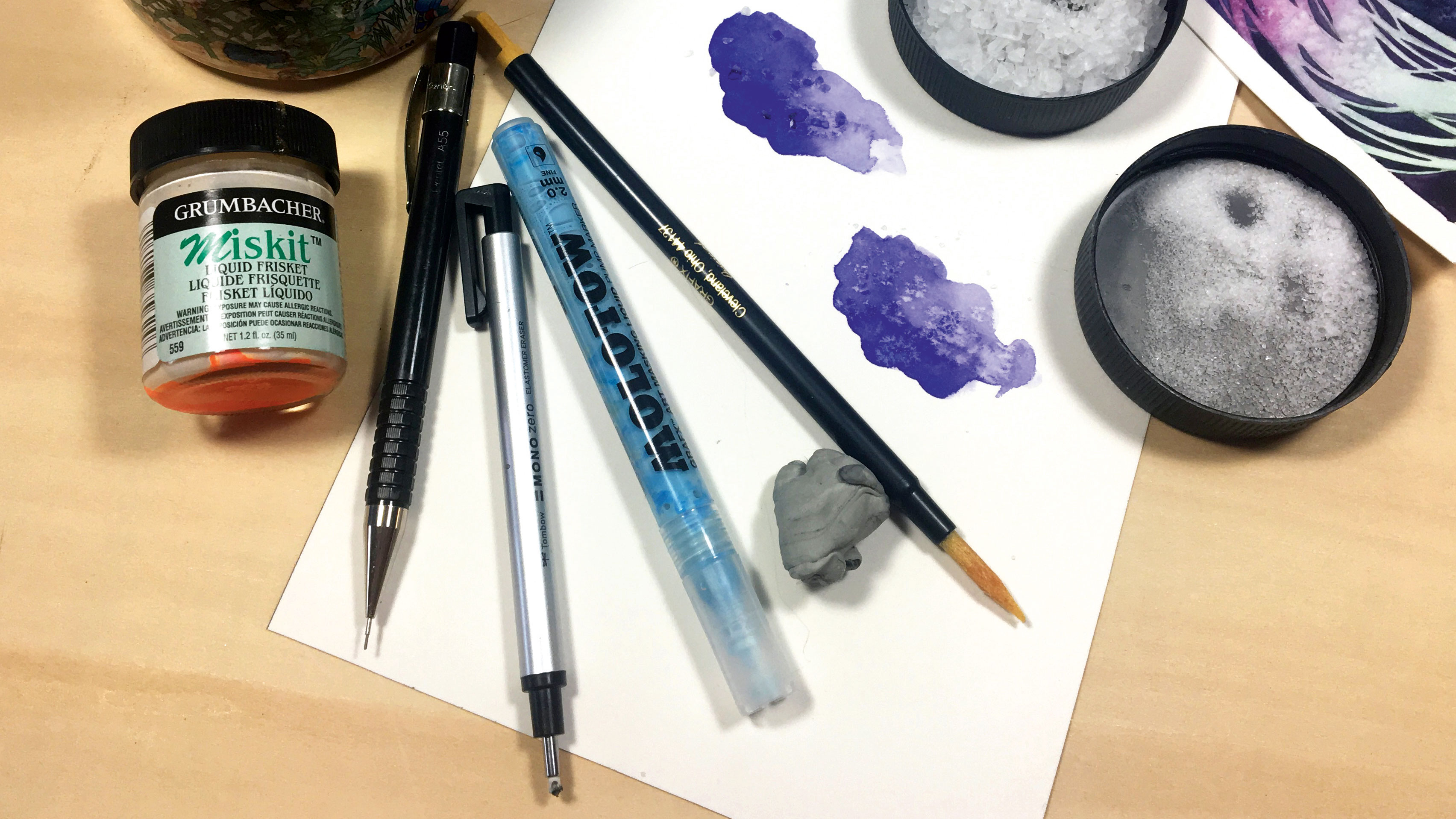 A beginner's guide to watercolour tools