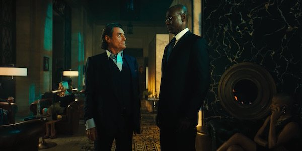 Ian McShane and Lance Reddick in John Wick: Chapter 3 - Parabellum