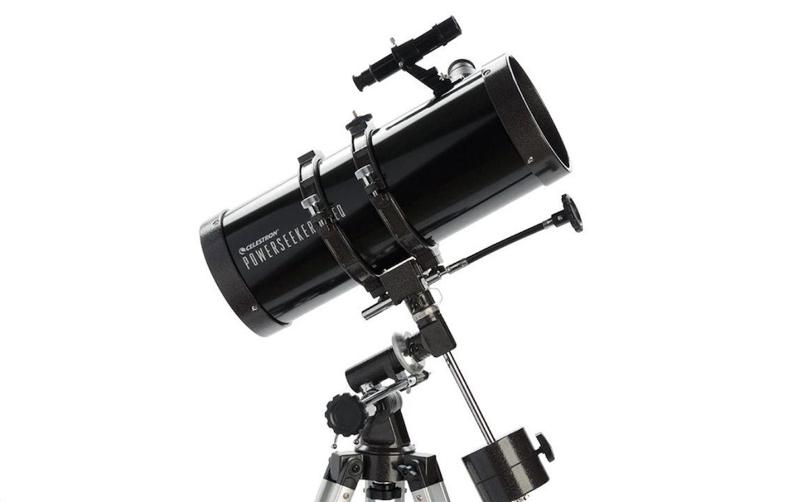 Celestron's PowerSeeker 127EQ telescope is 30% off for Prime Day