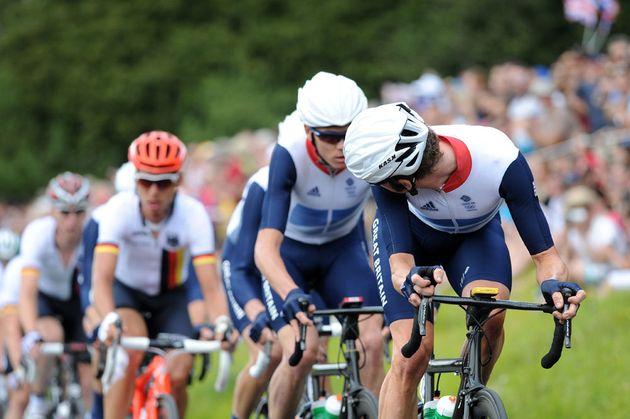 Bradley Wiggins, London 2012 Olympic men's road race