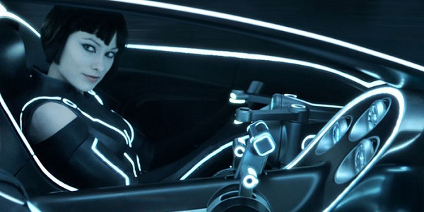 Tron Legacy Olivia Wilde Driving