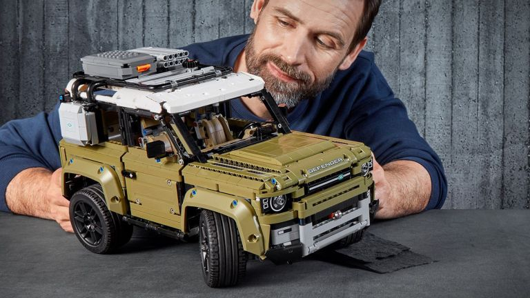 Lego's new Technic Land Rover Defender set is even better for rainy days than the real thing