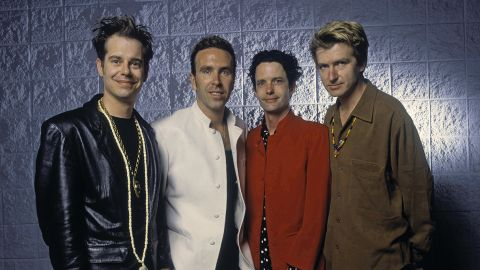 Crowded House band photograph
