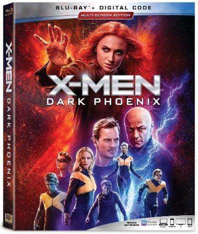 X-Men Dark Phoenix home release packaging