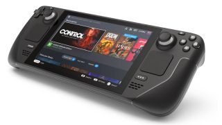 Steam Deck console from Valve