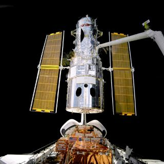 space history, Hubble