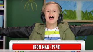 Kids react to Black Sabbath song Iron Man