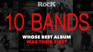 10 bands whose best album was their first