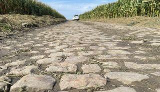 A few of the Paris-Roubaix cobbles