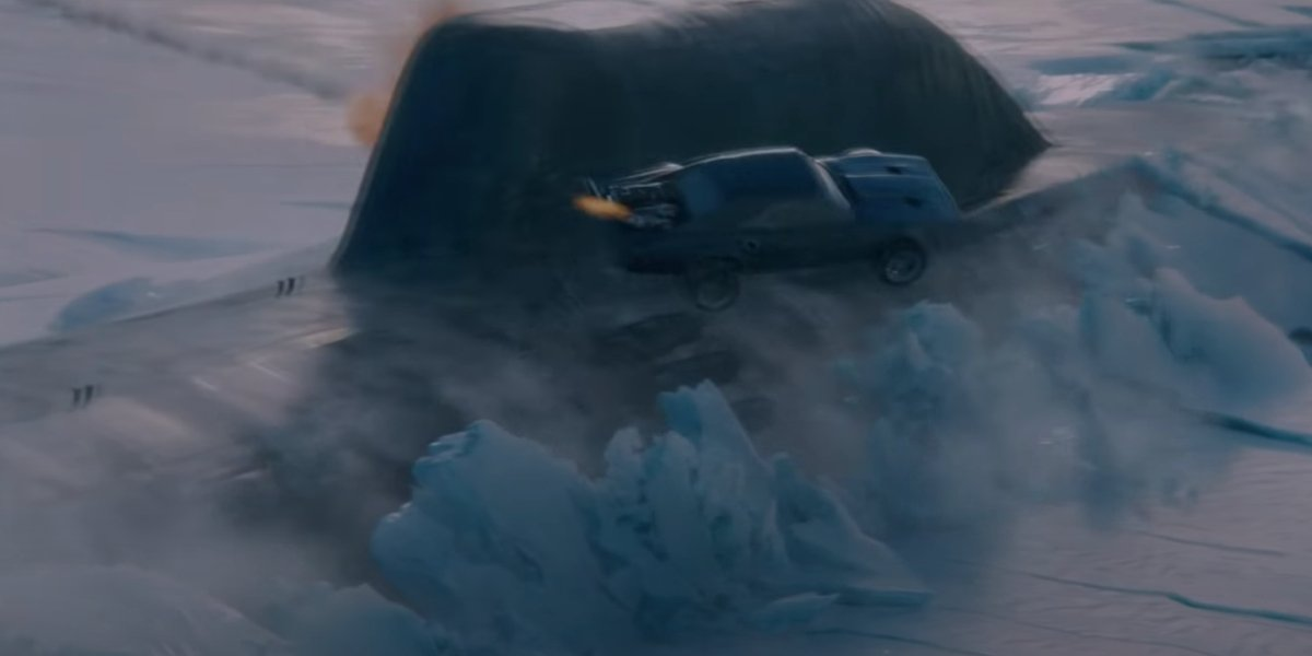The submarine scene in The Fate of the Furious