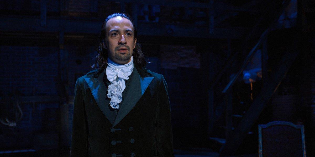 Lin-Manuel Miranda as Alexander Hamilton in Disney+ movie