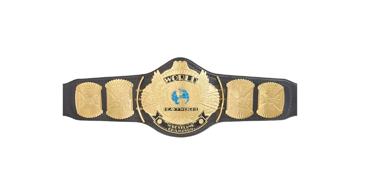 "WWE ""Winged Eagle"" Championship Belt"