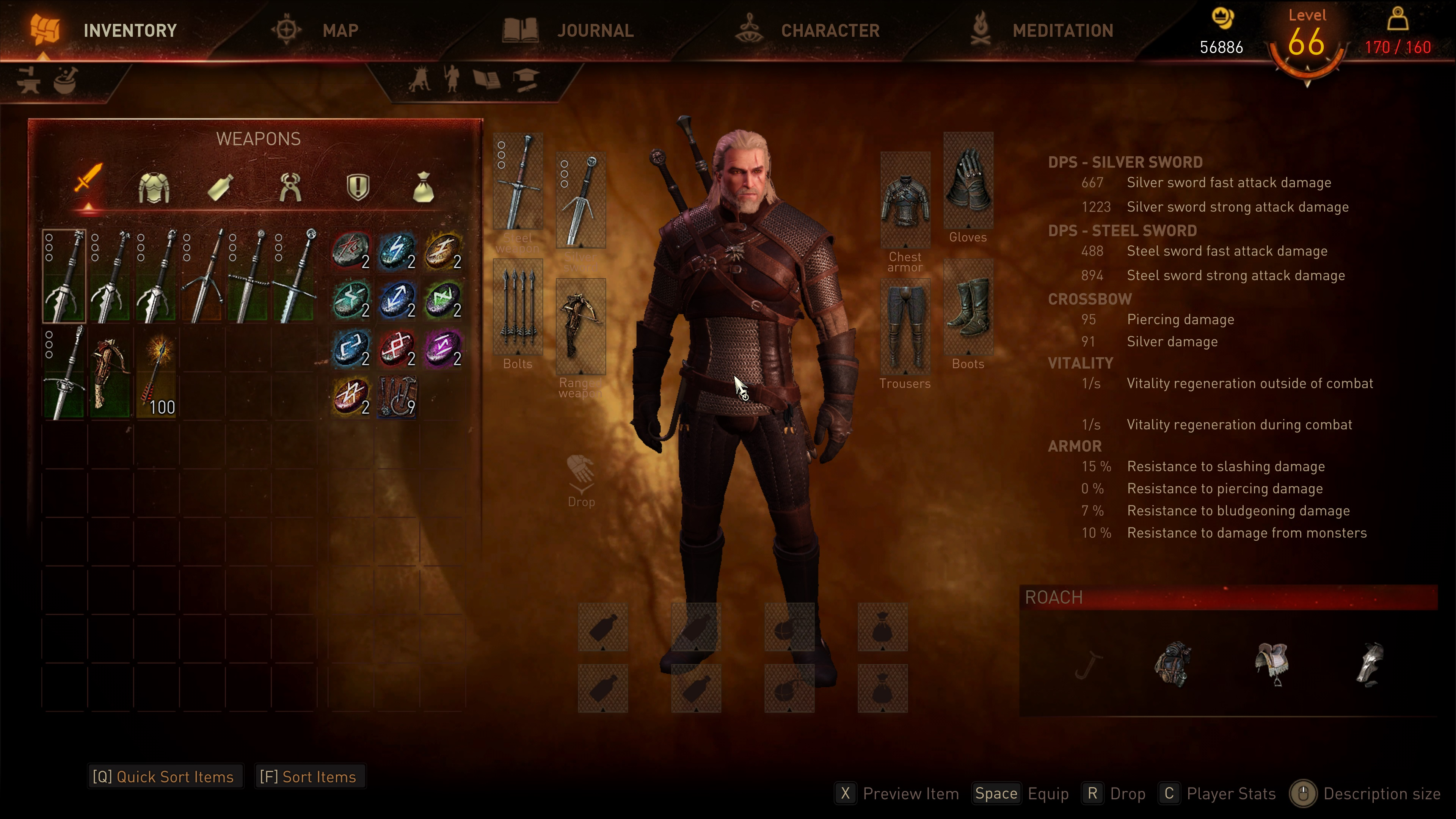 The Witcher 3 E3 2014 UI and HUD mod | PC Gamer