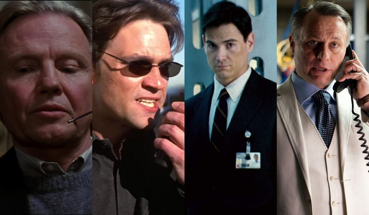 Jon Voight, Dougray Scott, Billy Crudup, and Michael Nyqvist lined up in their Mission: Impossible appearances.