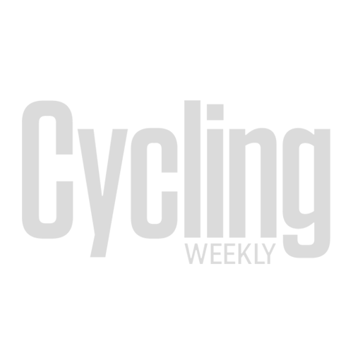 Cyclist sleeping