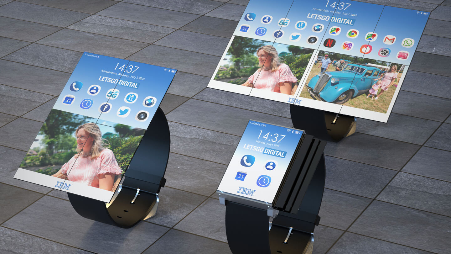 IBM patents a watch that turns into a tablet | Creative Bloq