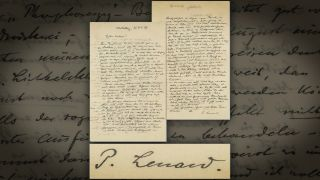 Racist musings by Nobel Prize-winner Philipp Lenard are preserved in a letter the physicist penned in 1927.