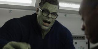 Smart Hulk explaining Time Travel