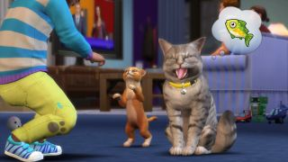 The Sims 4: Cats & Dogs, one of the best cat games