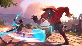 Immortals Fenyx Rising combat
