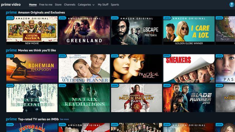 Amazon Prime Video The Icon Film Channel