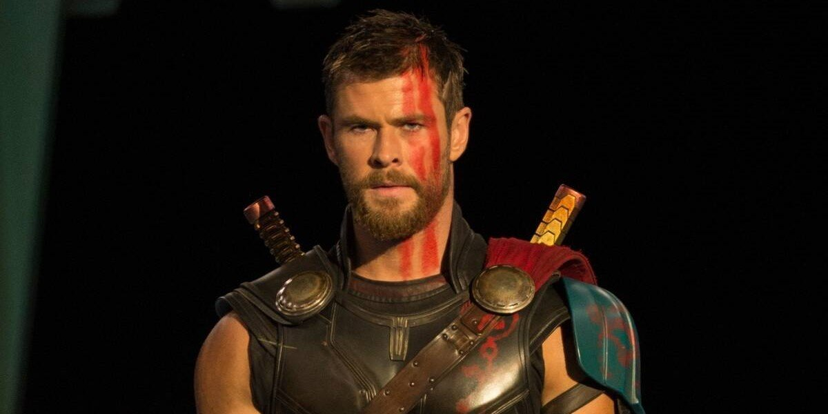 Chris Hemsowrth in Thor: Ragnarok
