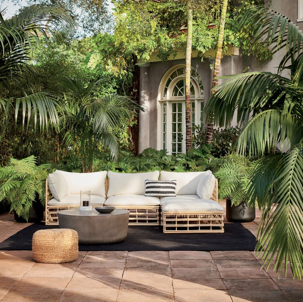 5 wicker patio furniture pieces perfect for SS21
