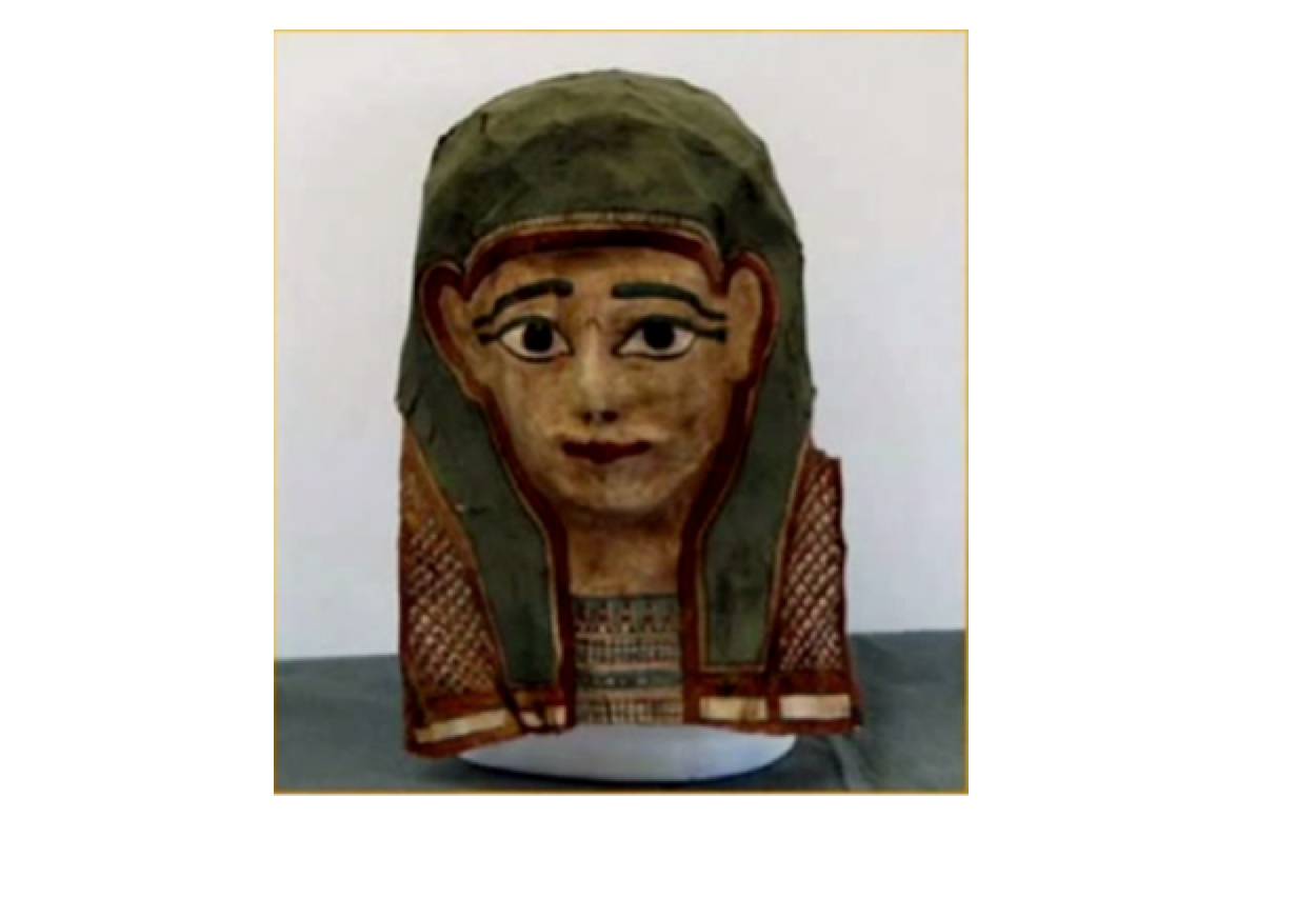 Image result for image of the fragment of mark mummy mask