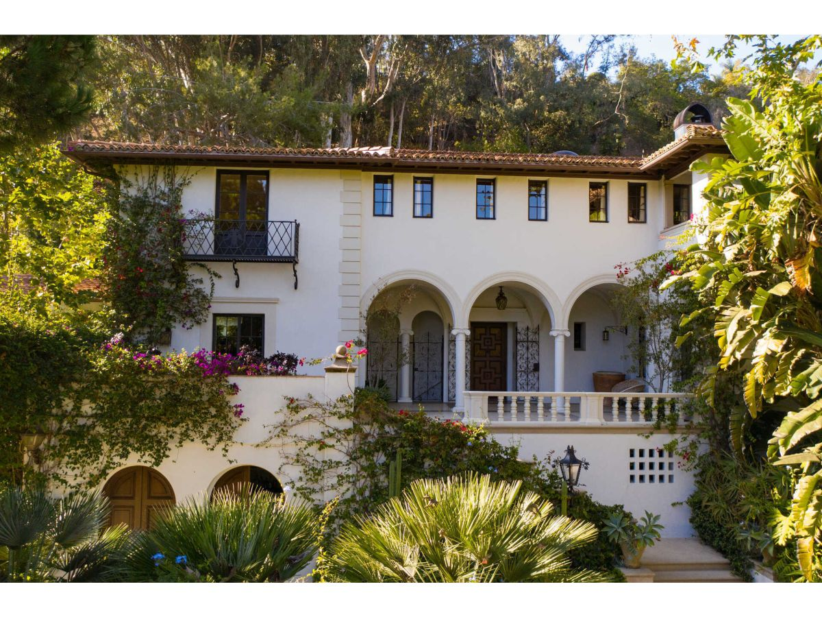 Explore an historic Santa Monica mansion once home to Fleetwood Mac - on sale for $50 million