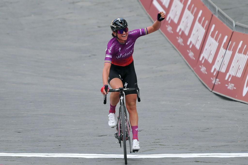 Chantal Van Den Broek - Blaak (SD Worx) wins Strade Bianche Women