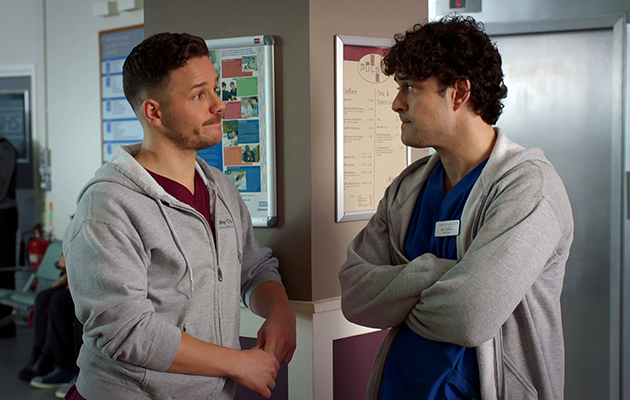 Holby City fans unimpressed show has been moved to tomorrow due to footy. AGAIN!